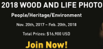 Wood is good! Free photo contest with $16 900 prize awards!