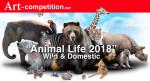 ART CALL TO ARTISTS AND PHOTOGRAPHERS – ANIMAL LIFE 2018