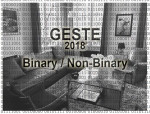 GESTE Paris 2018 – Binary / Non-Binary