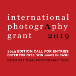 INTERNATIONAL PHOTOGRAPHY GRANT 2019