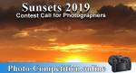 OPEN PHOTOGRAPHY CONTEST – SUNSET / SUNRISE 2019