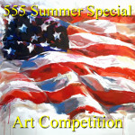 """5 Dollars, 5 Entries, 5 Winners"" Summer Special Art Competition"