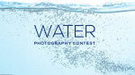 Water Photography Contest