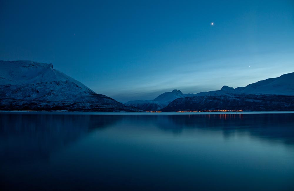 Arctic Norway Night Scene by Photographer: Mel Manser