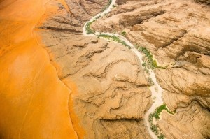 Photo and caption by Chris Schmid/National Geographic Photo Contest  Aerial view of the Namib Desert, Namibia, Africa