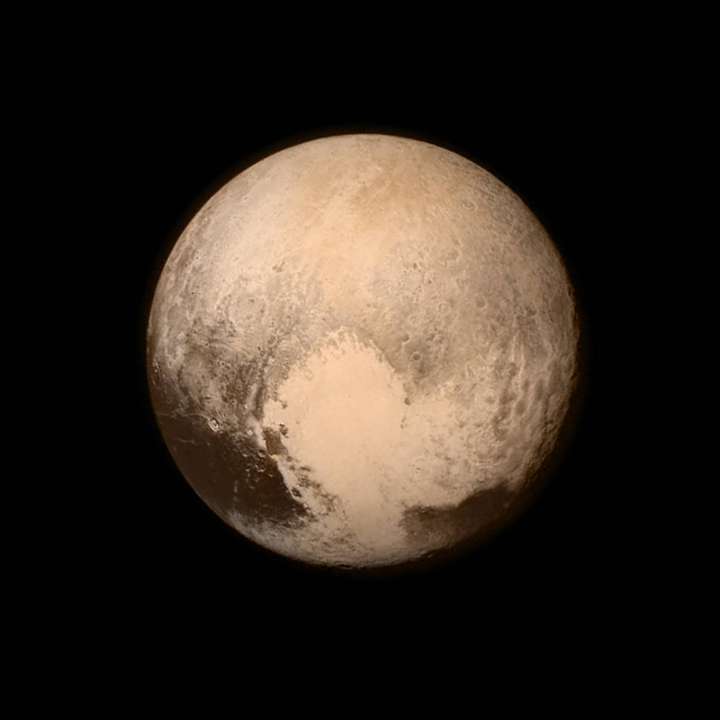 Nasa Photo of Pluto