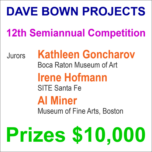 $10,000 in Cash Prizes – Dave Bown Projects – 12th Semiannual Competition