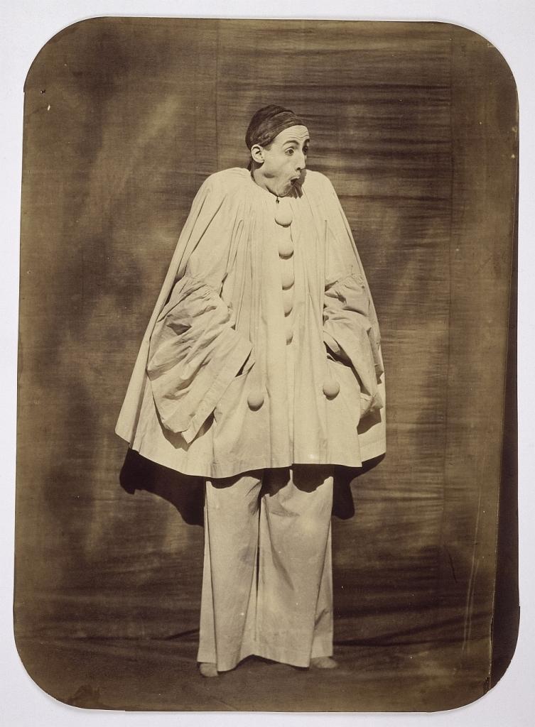 Le mime Debureau en Pierrot : la surprise Tournachon Adrien (1825-1903) Paris, musée d'Orsay