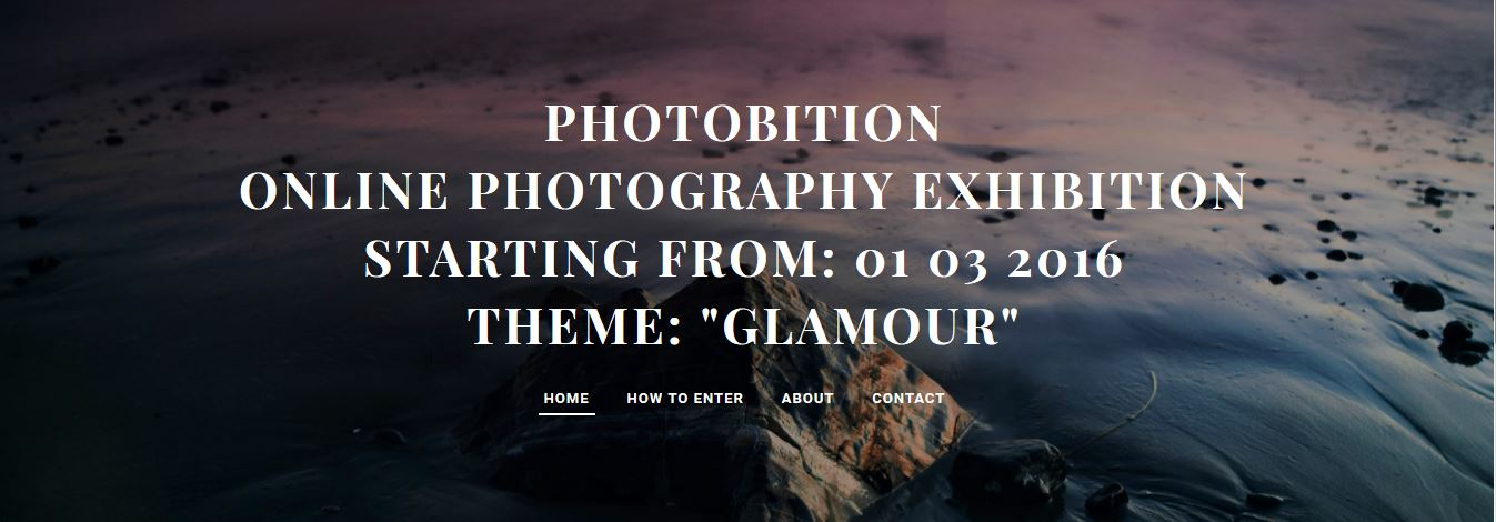 PHOTOBITION-2nd Online Photography Exhibition