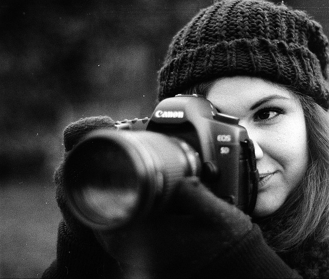 photography mentor with a camera