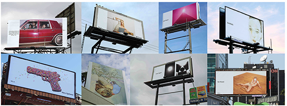 2016 Los Angeles Billboard Exhibition