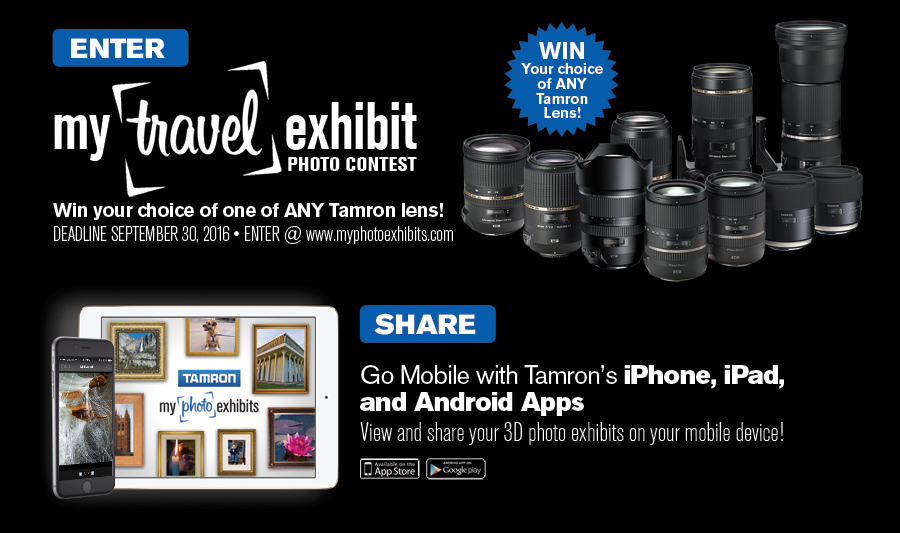 Tamron: My Travel Exhibit Photo Contest