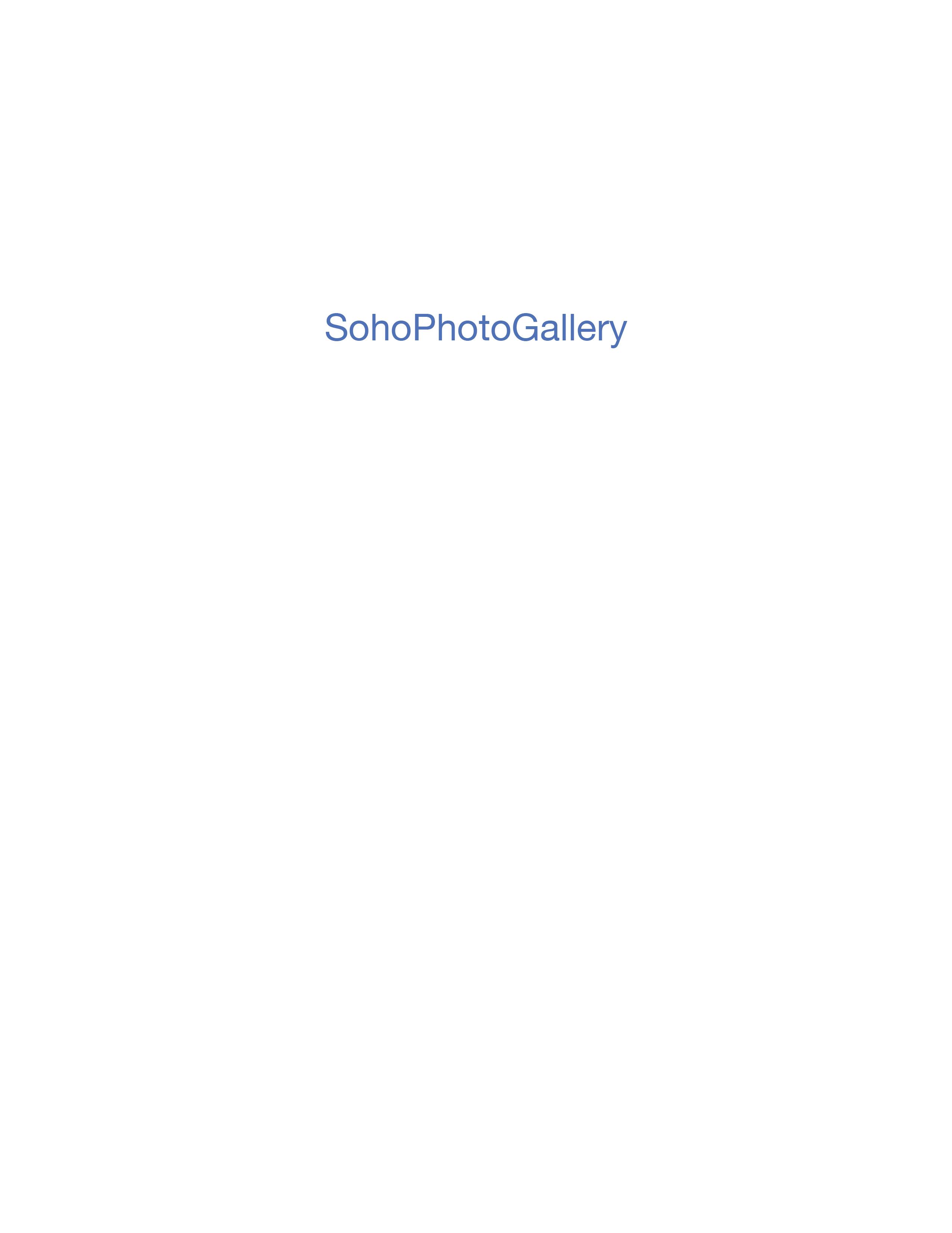 Soho Photo Gallery's International Portfolio Competition