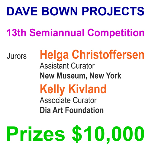 Dave Bown Projects – $10,000 in Cash Prizes