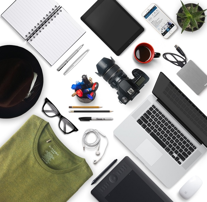 Flat Lay Tips and Tricks for Photographers
