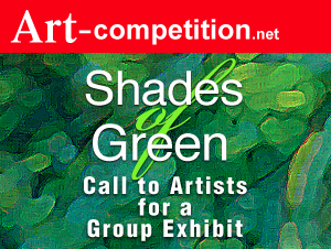 """Call To Artists """"Shades Of Green"""" For A Group Exhibit"""