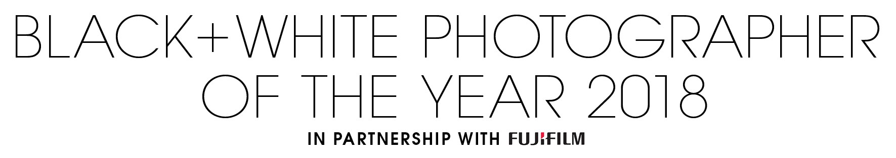 Black+White Photographer of the Year 2018