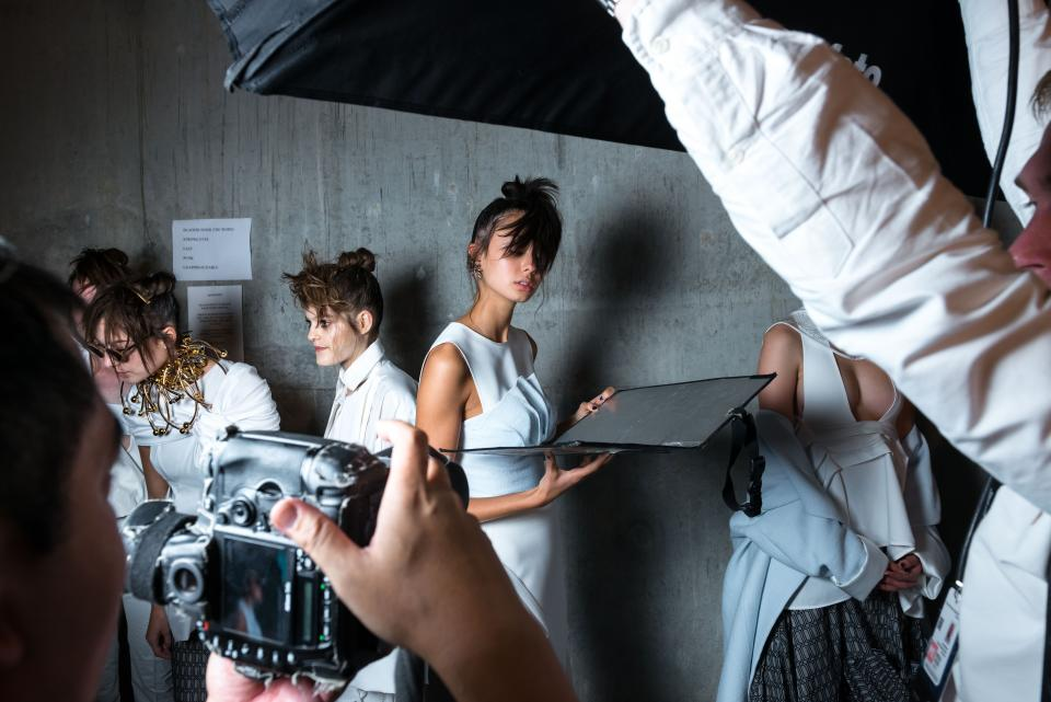 Tips for Shooting Backstage at Fashion Shows