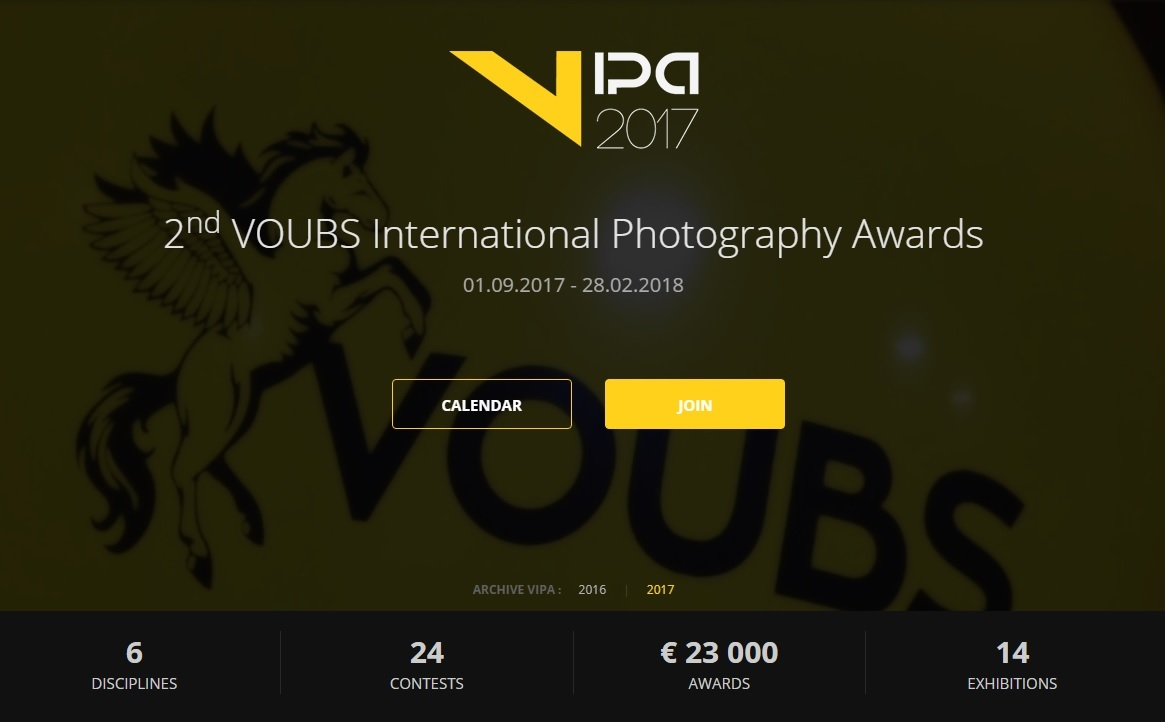 VIPA International Photography Awards 2017