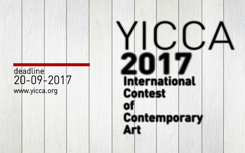 YICCA 2017 – International Contest of Contemporary Art