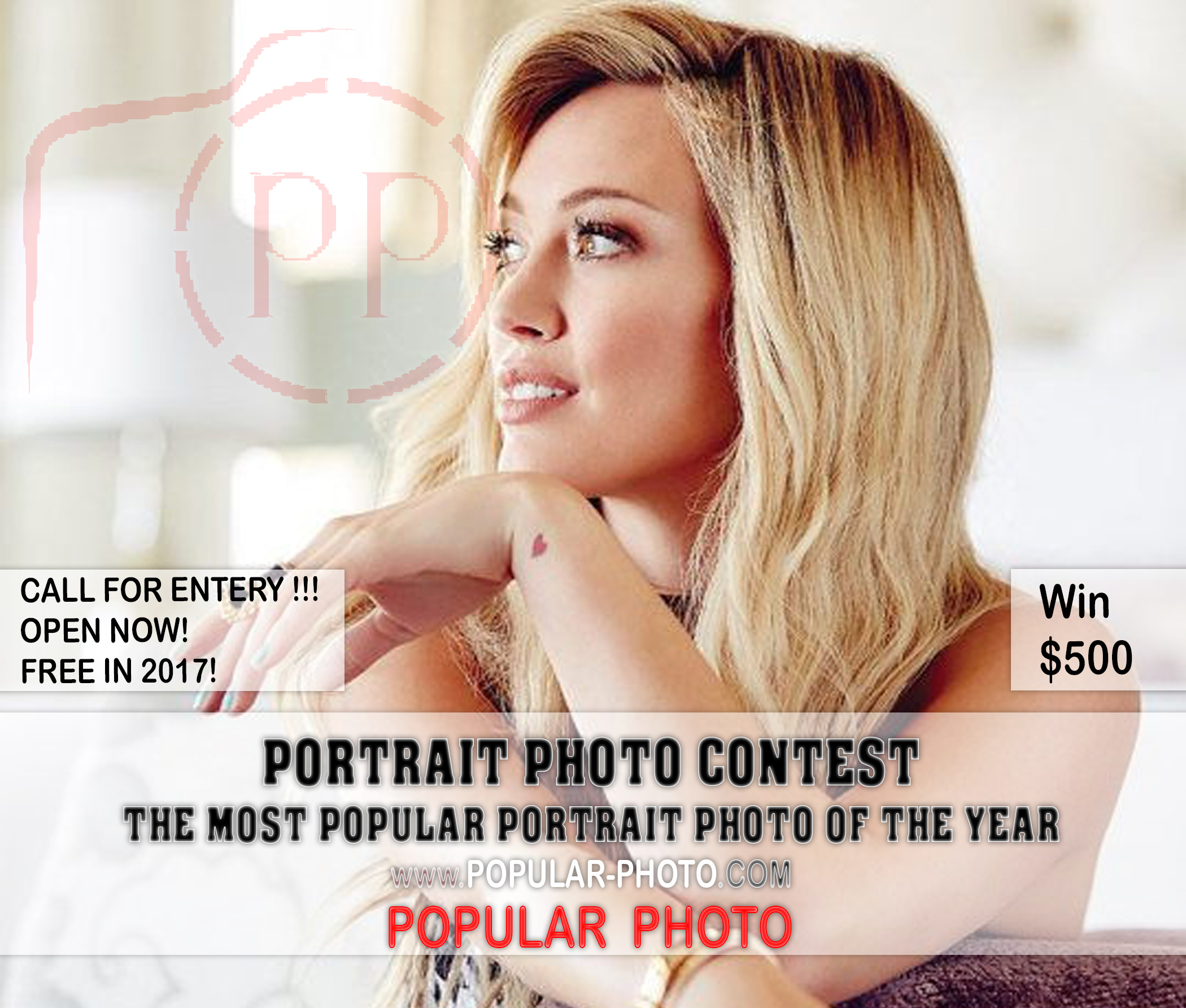The popular portrait photo contest