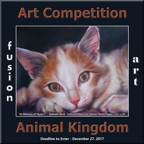 3rd Annual Animal Kingdom Art/Photo Competition
