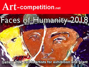 "Art Call for Exhibition ""Faces of Humanity 2018"" at Gallery 25N"