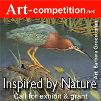 "Art Call for Exhibit ""Inspired By Nature 2018″ at Gallery 25N"