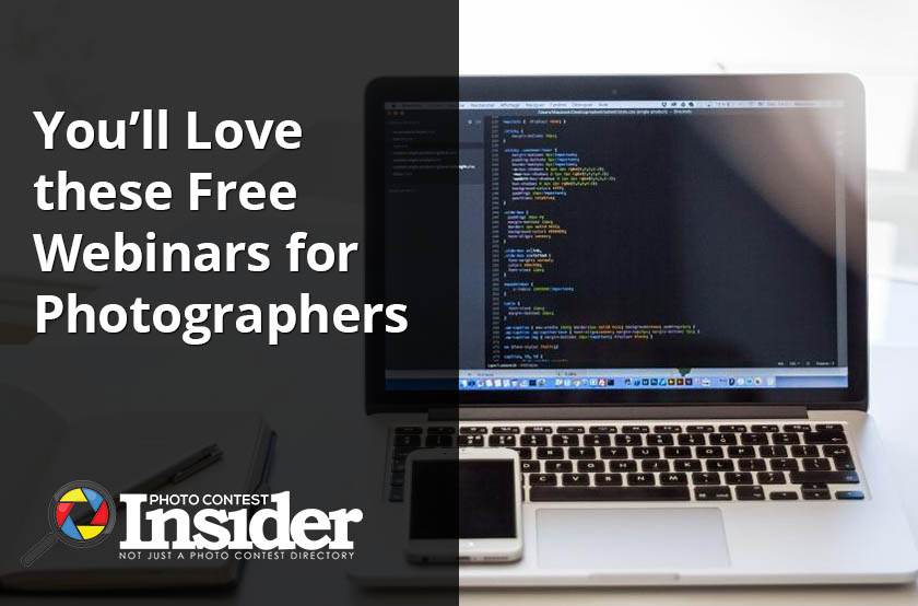 You'll Love these Free Webinars for Photographers