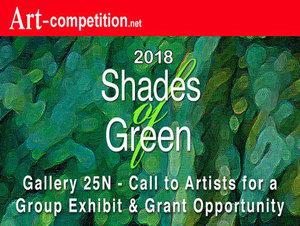 "Art Call:  ""Shades of Green 2018,"""