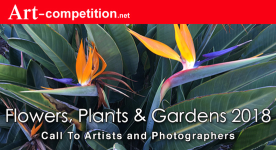 """Call for Entries """"Flowers, Plants & Gardens 2018"""""""