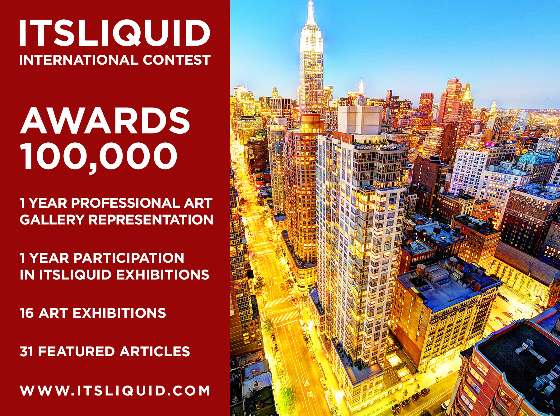 ITSLIQUID International Contest – 6th Edition 2018