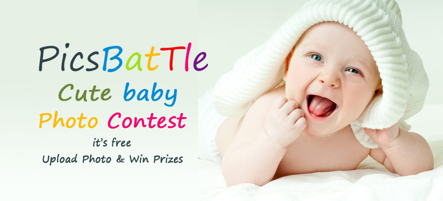 Picsbattle Cute Baby Photo Contest November 2018  Win Prizes & Gifts