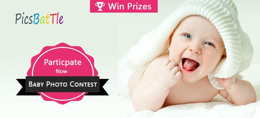 Participate in Cute Baby Photo Contest February 2019 – PicsBattle