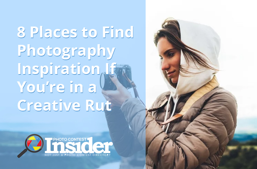 8 Places to Find Photography Inspiration If You're in a Creative Rut