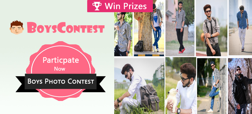 Join Free Boys Photo Contest February 2019 | Boyscontest