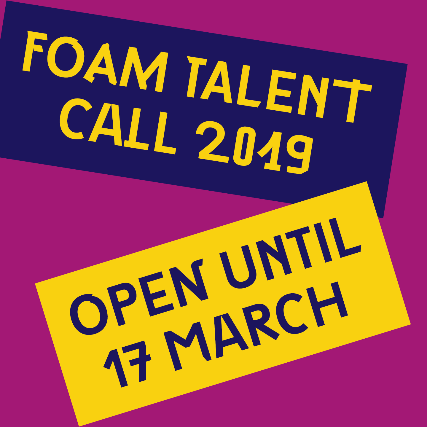 Foam Talent Call 2019