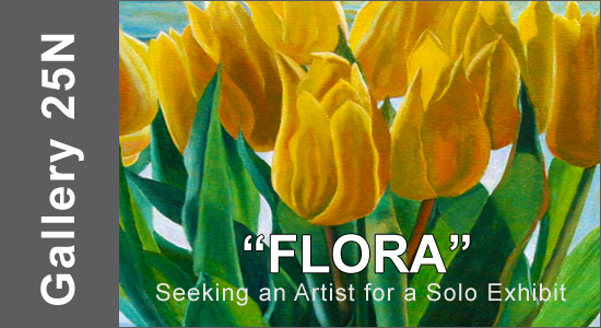"ART CALL TO ARTISTS AND PHOTOGRAPHERS – For ""FLORA"" a Solo Exhibition 2019"