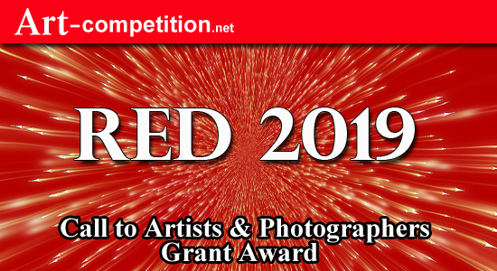 ART CALL TO ARTISTS AND PHOTOGRAPHERS – RED 2019