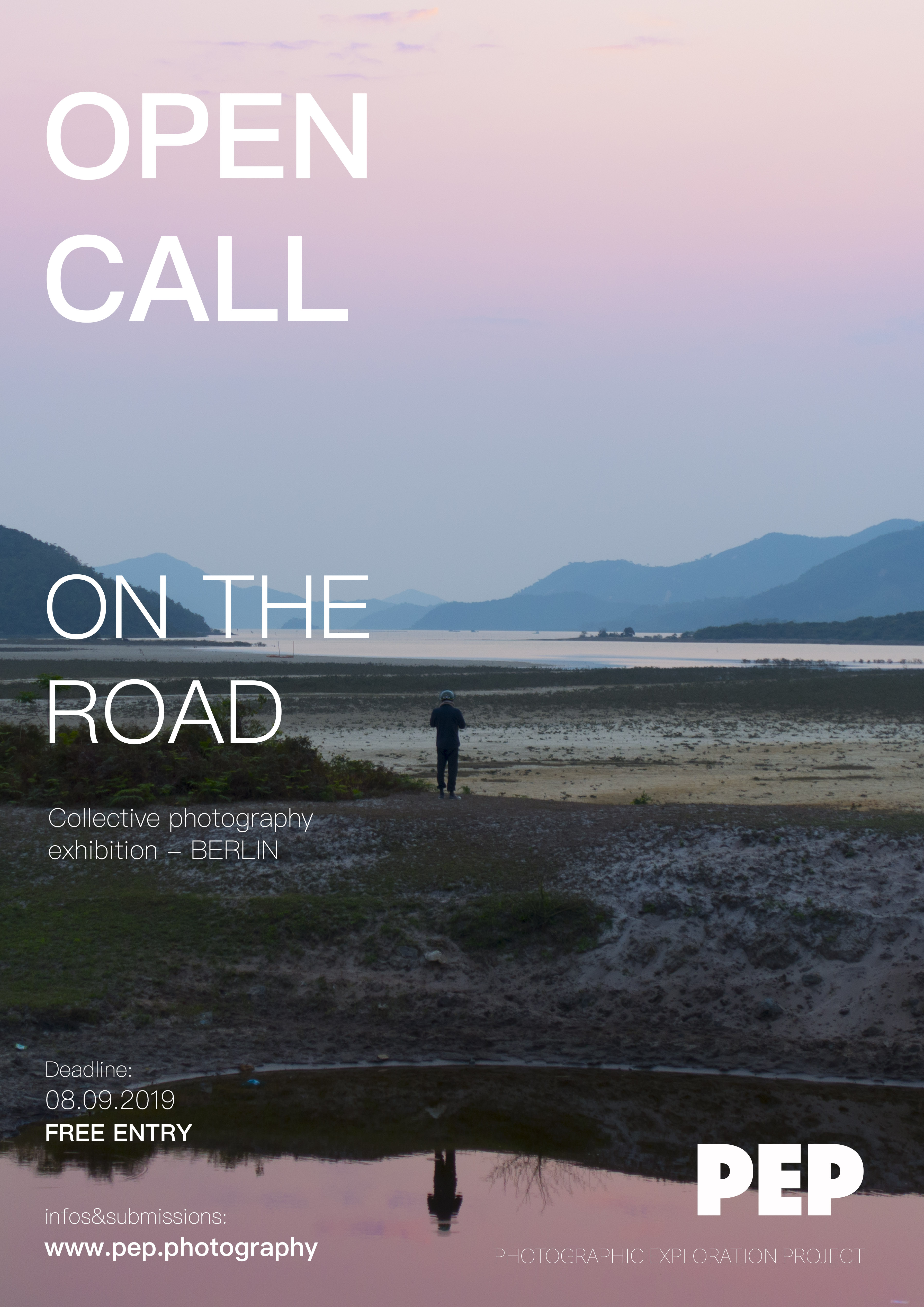 """""""On the road"""": Take part in a collective exhibition in Berlin!"""