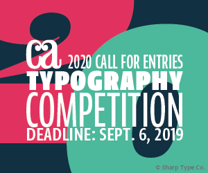 2020 Typography Competition