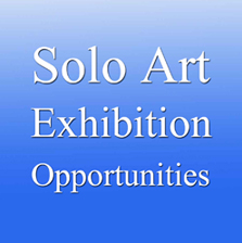 13th Solo Art Series – Solo Art Exhibition Opportunity