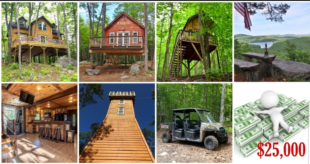 WIN MAINE TREEHOUSE RESORT & $25,000