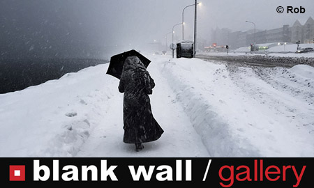 People & Winter by Blank Wall Gallery
