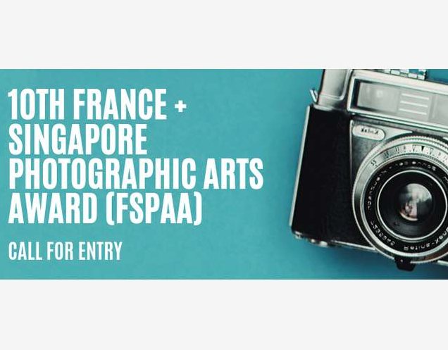 France + Singapore Photographic Arts Award