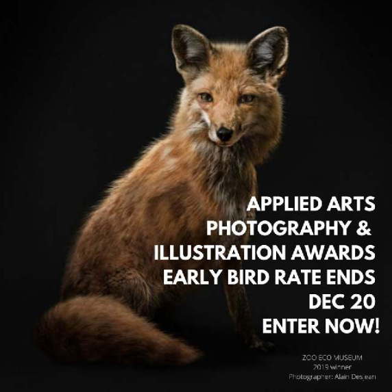 Applied Arts 2020 Photography Awards