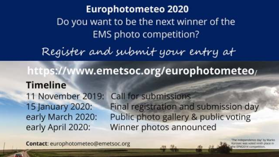 Europhotometeo 2020 Photography Competition