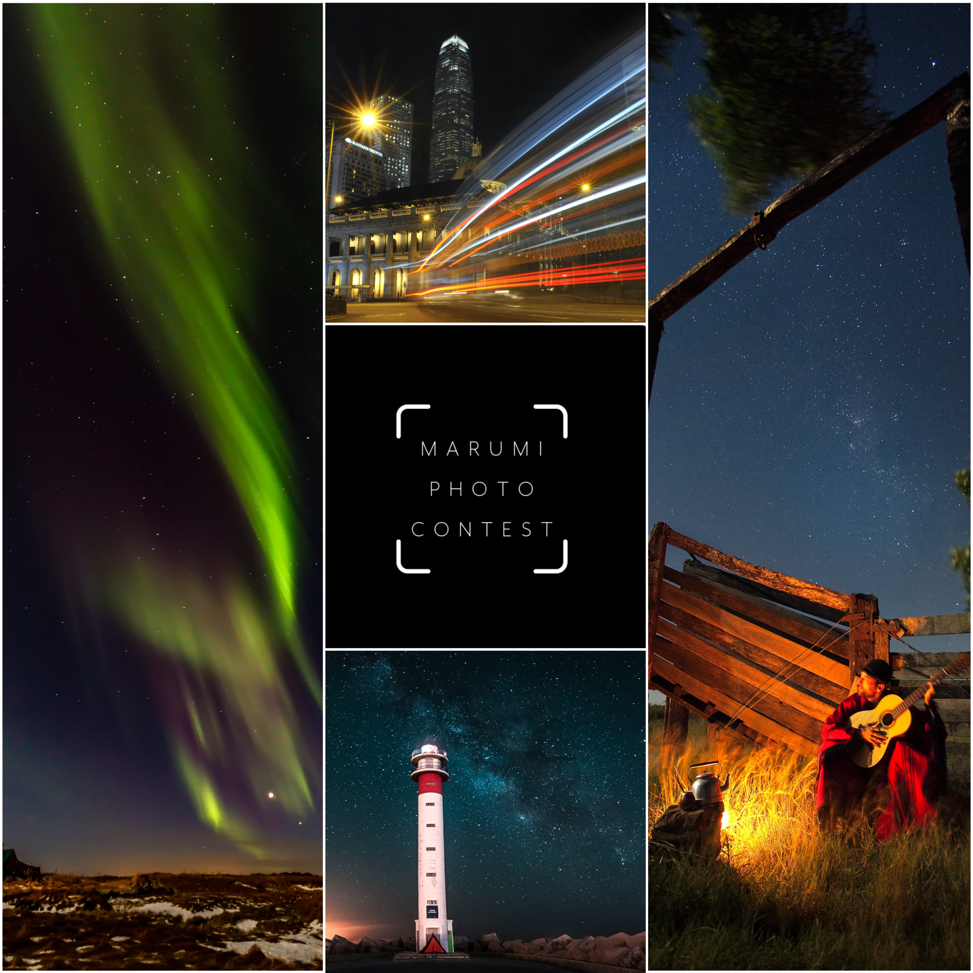 "MARUMI 8TH PHOTO CONTEST ""NIGHTSCAPE PHOTOGRAPHY"""