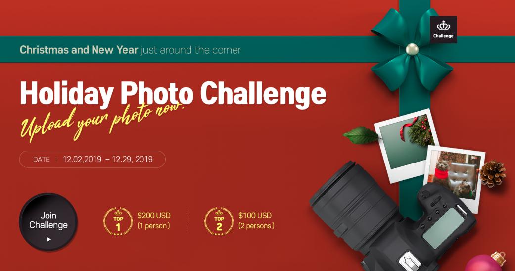 Holiday Photo Challenge