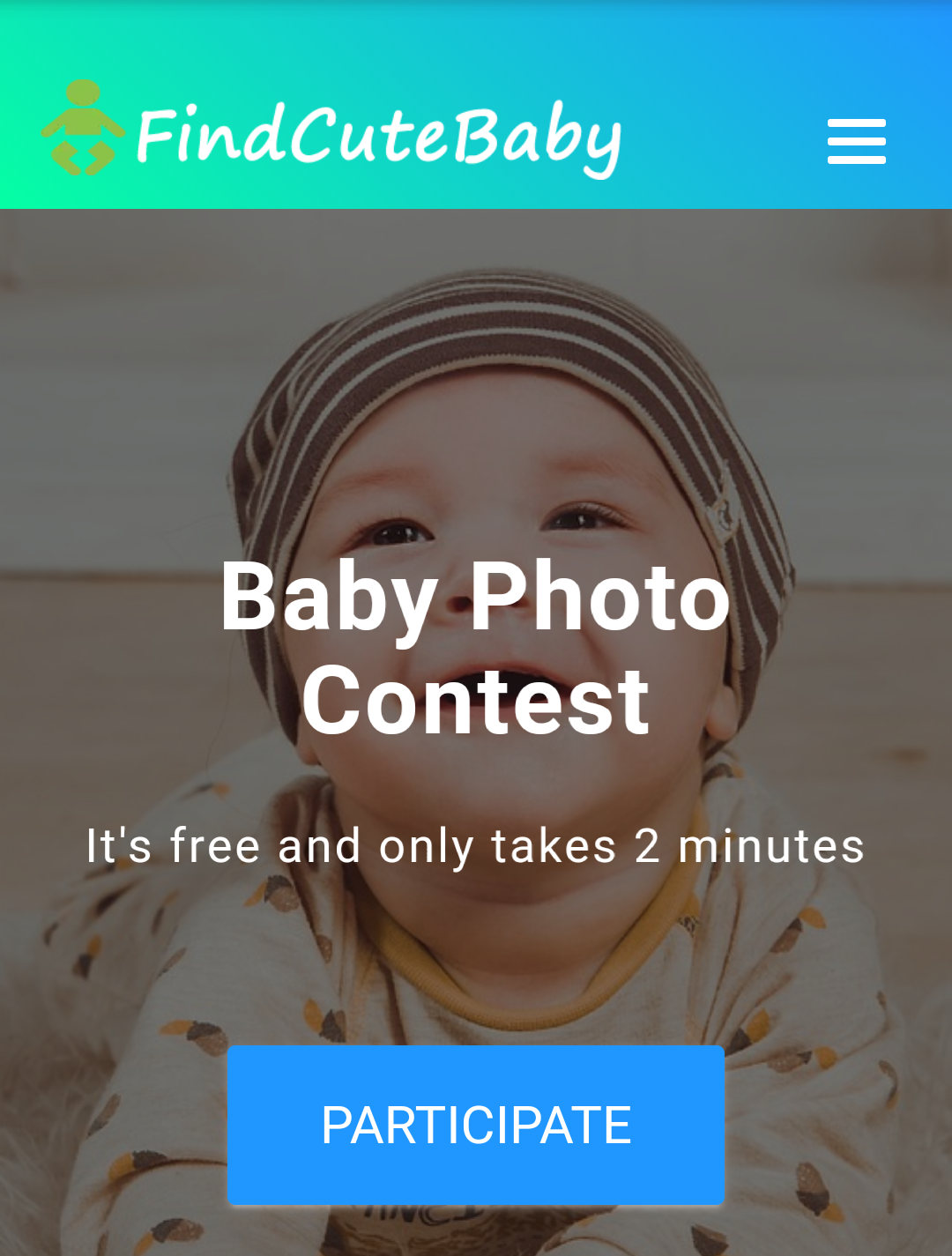 Findcutebaby Photo Contest Participate Now – Win Prizes